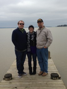 Zach, me, and my dad